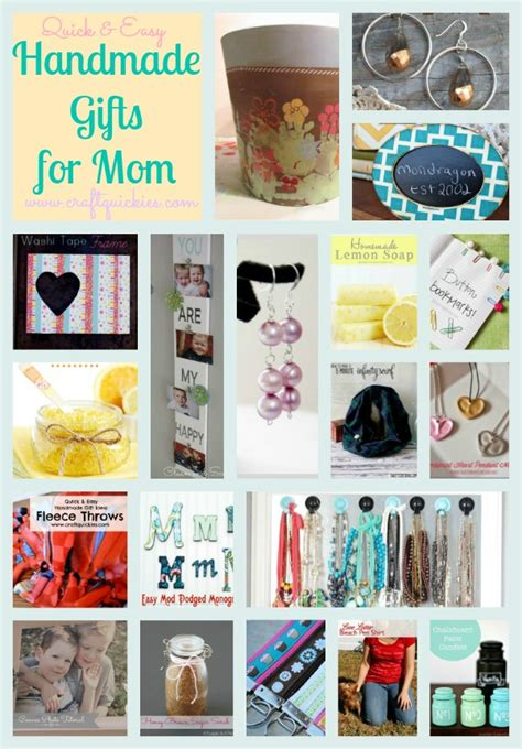 Easy Handmade Presents - 19 easy handmade gifts for