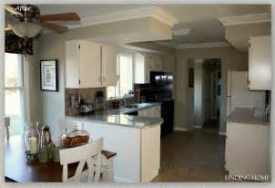 Painting Kitchen Cabinets White Before And After by Remodelaholic From Oak To Beautiful White Kitchen Cabinets