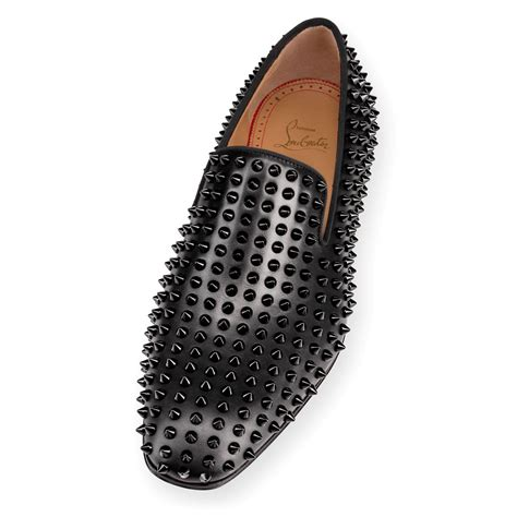 Spikes On Black dandelion spikes flat black black leather shoes