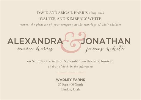 Wording Wedding Invitations by Catholic Wedding Invitation Wording Theruntime