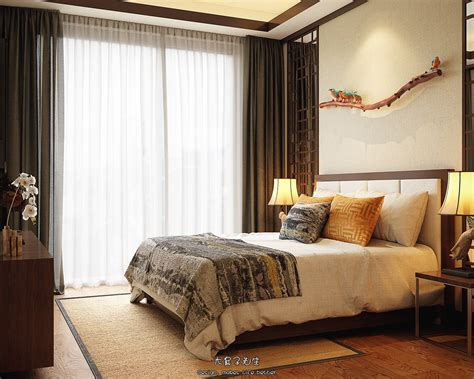 chinese bedroom two modern interiors inspired by traditional chinese decor