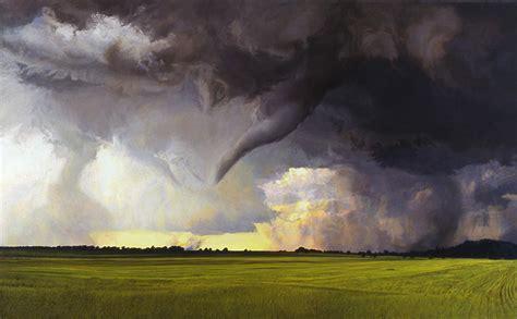 Florida Home Decor tornado paintings amy marx