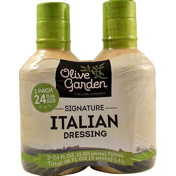is olive garden italian dressing gluten free condiments sauces costco