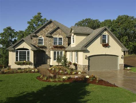 stucco rock theultimatehomesolutions exterior house color ideas brown
