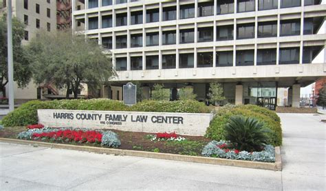Harris County Family Court Records Harris County Family Center Building And Plaza Photos And Map