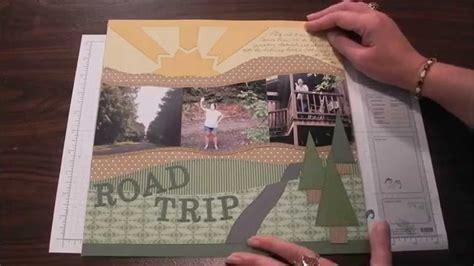 scrapbook quilt layout quilt looks and design in your scrapbook layouts youtube