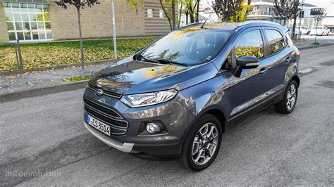 Ford Ecosport Review 2016 Ford Ecosport 1 0 Ecoboost Review Autoevolution