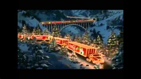 coca cola christmas trucks youtube