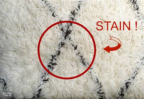 spot clean wool rug wool carpet stain remover cleaning tip setting for four