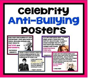 printable celebrity posters 81 best images about anti bullying on pinterest