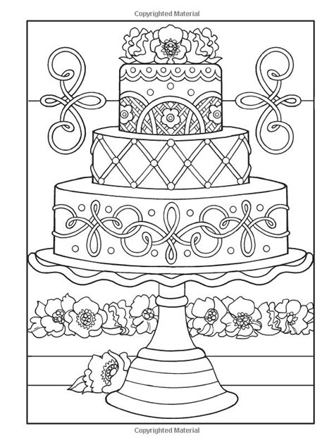 dessert coloring pages creative designer desserts coloring book creative