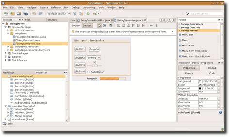 netbeans swing java teil 2 grafische programmierung mit swing