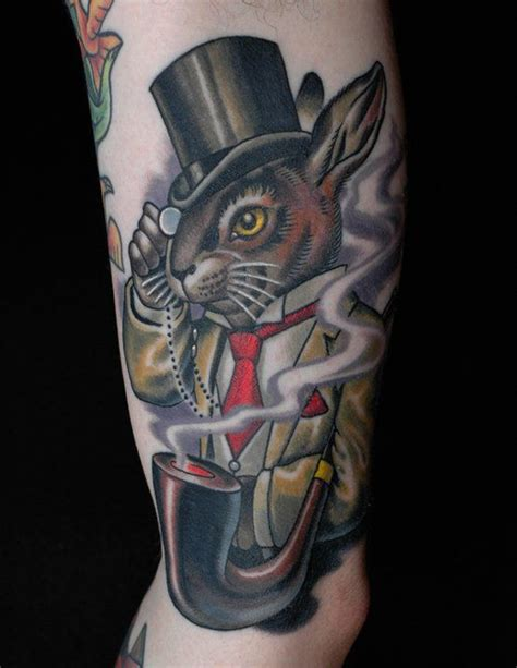 tattoo bad bunny izegem classy colors and ink on pinterest
