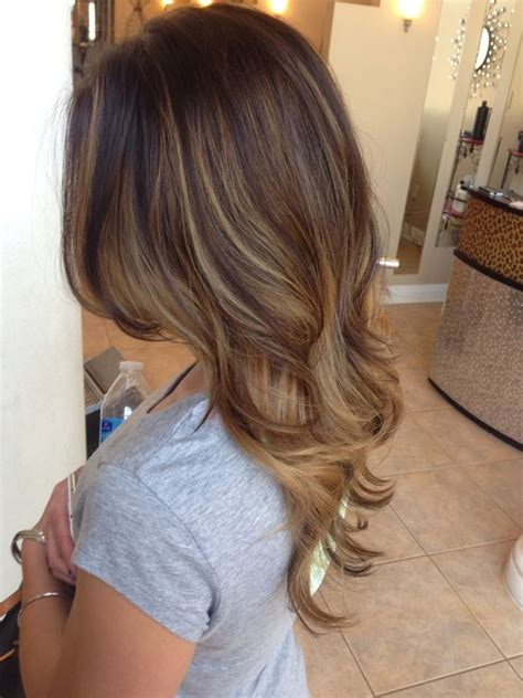 layered hair ash brown with ash blonde highlights or balayage pinterest the world s catalog of ideas