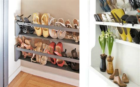 diy shoe storage solutions diy 5 steps to a shoe storage solution closet wall