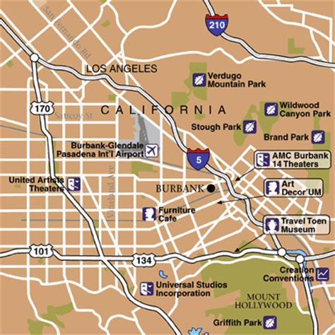 california map burbank cheap airfare tickets discount flights to burbank bob