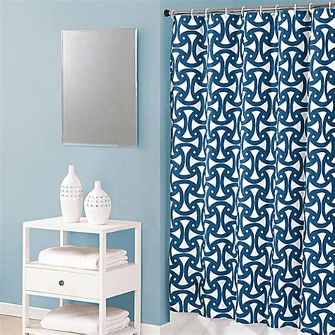 trina turk shower curtain trina turk santorini cotton lined shower curtain bed