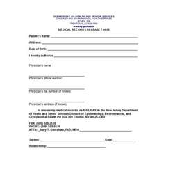 Emergency Room Release Form Template by 30 Release Form Templates Free Template Downloads