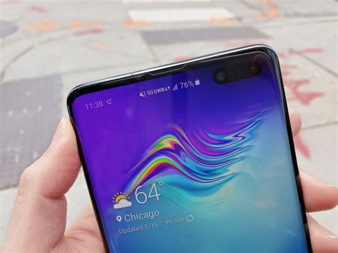 galaxy s10 5g s verizon data speeds are only the step to real 5g cnet
