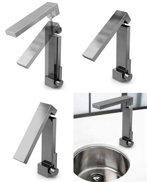 Fold Faucet by Kitchen Faucets 7 Most Innovative Faucet Designs For 2009