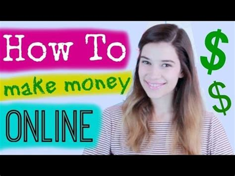 How To Make Money As A Teenager Online - how to make money online as a teen youtube