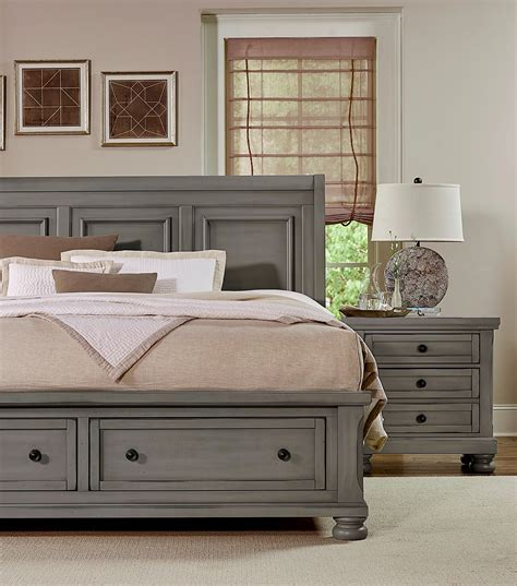 reflections bedroom set reflections antique pewter sleigh storage bedroom set 531