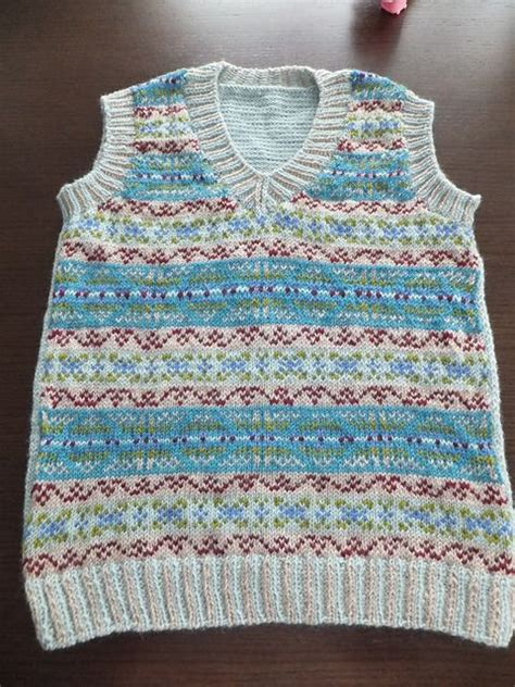 fair isle vest knitting patterns 133 best images about knitted vests on vests