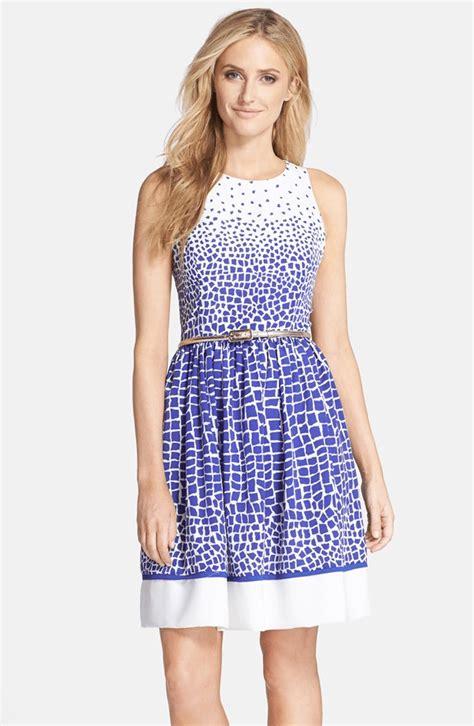 eliza j drape sleeve sash belt dress eliza j dresses pumps and polka dots