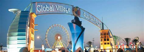 global village dubai  closing firework