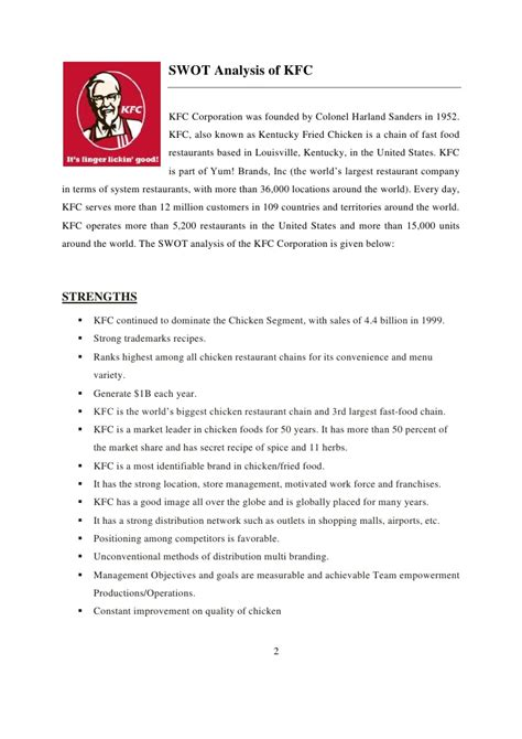 Kfc Study Essay by Cheap Write My Essay Swot Analysis Of Kfc Proofreadingonlinekhabar X Fc2