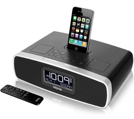 i home ihome ip90 dual alarm clock radio for your iphone ipod
