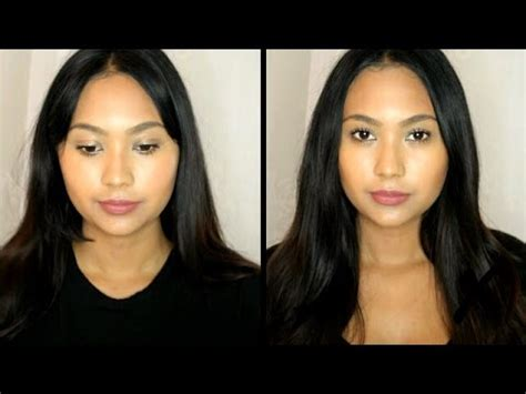 how to make a round face appear longer how to make your face look slimmer do s and don ts for