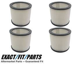 4 Filters for Shop Vac 14 Gallon