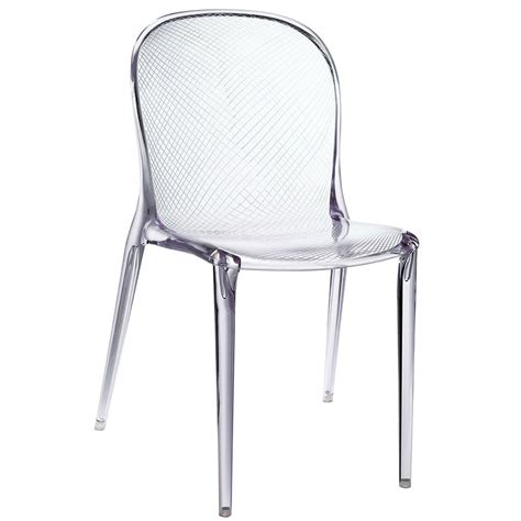 Modern Dining Chairs Spirit Clear Chair Eurway Clear Dining Chair