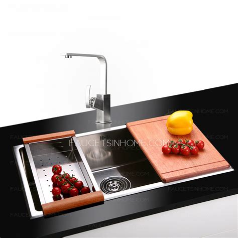 large kitchen sink large capacity stainless steel single sink kitchen sinks