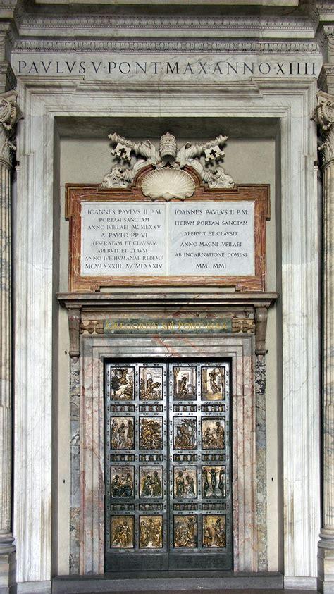 filerom vatikan petersdom heilige pforte jpg wikimedia commons