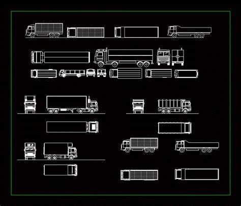 truck dwg plan  autocad designs cad