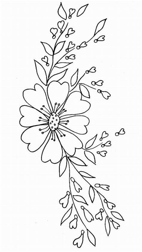 Imprime Le Dessin 224 Colorier De Fleur Coloriage Coeur Fleur L