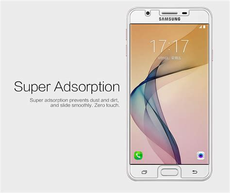 Nillkin Samsung Galaxy J5 Prime nillkin clear anti fingerprint protective for samsung galaxy j5 prime on5 2016
