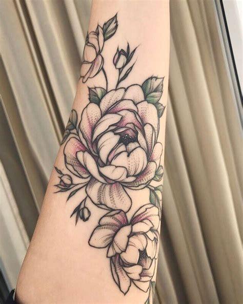 peony tattoo designs gorgeous peonies tattoos on