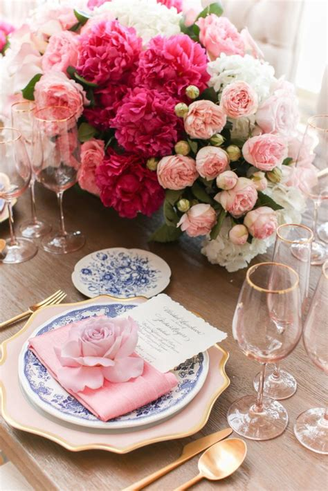6 diy peony rose and hydrangea centerpieces for 50 68 best images about dreamy pink and gold wedding on