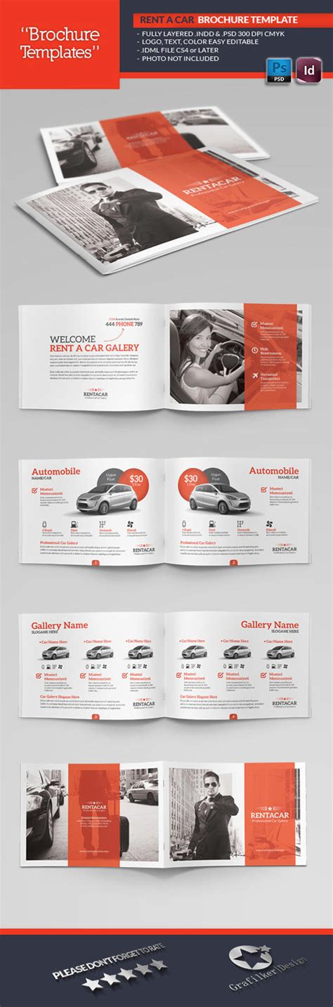professional booklet template professional brochure templates by grafilker on envato studio