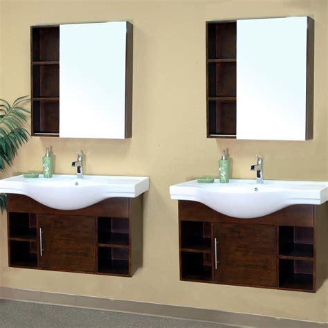 spa style bathroom vanity bellaterra 81 quot matching single wall mount vanity medium