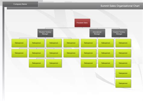 sales structure template sales org chart free sales org chart templates