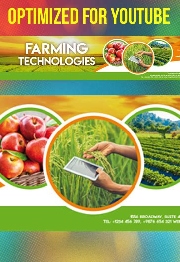 agriculture  farming flyer template  elegantflyer