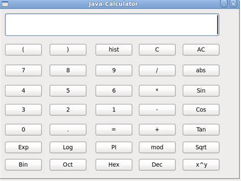 calculator program in java using swing nodemanager blog