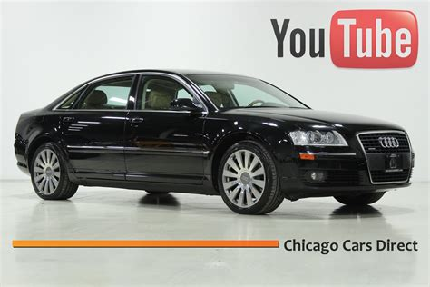 how do i learn about cars 2007 audi s8 interior lighting chicago cars direct presents a 2007 audi a8 4 2l quattro exclusive pkg 2 007951 youtube