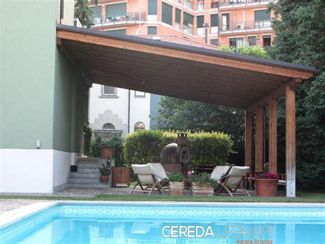 tettoie in legno per esterni prezzi tettoie legno cereda legnami agrate brianza