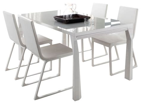 dining room tables extendable sapphire prisma extendable dining table modern dining
