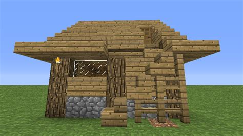 minecraft wooden house design small minecraft house designs home design exterior